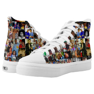 Family Collage Custom High Top Shoes