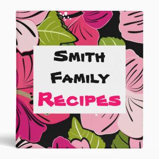 Family Cookbook 3 Ring Binders