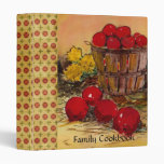 Family Cookbook Vinyl Binder