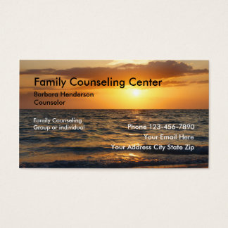 Family Counseling Business Cards