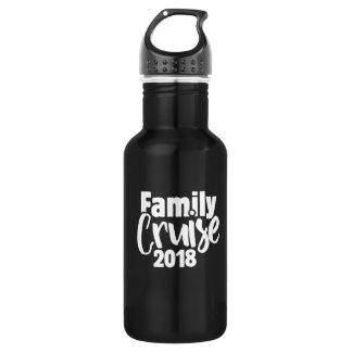 Family cruise 2018 532 ml water bottle