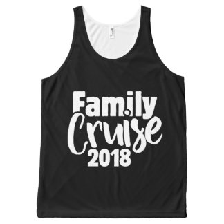 Family cruise 2018 All-Over-Print tank top