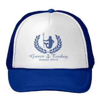 Family Cruise Sea God and laurel wreath custom Trucker Hat