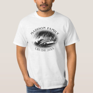Family Cruise Ship Vacation Personalized Name T-Shirt