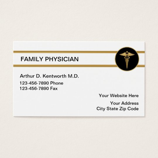 Family doctor business cards zazzleca for Doctors business cards