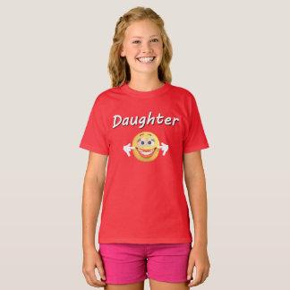Family Emoji Vacation Matching Shirt - Daughter