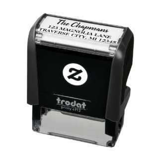 Family Fancy Return Address Self-inking Stamp