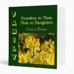 FAMILY Favourite Recipes Grandma Mom Daughters Binder