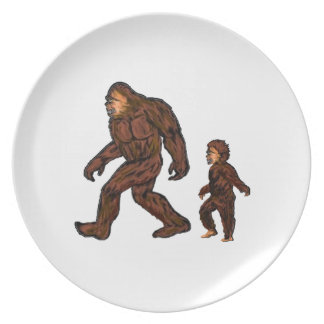 Family Field Day Plate