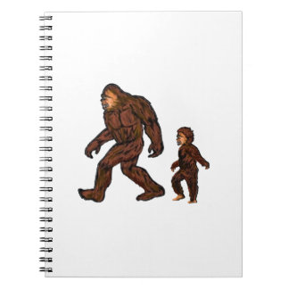 Family Field Day Spiral Notebook