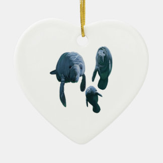 FAMILY FOR THREE CERAMIC ORNAMENT