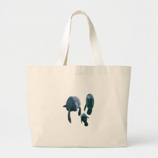 FAMILY FOR THREE LARGE TOTE BAG