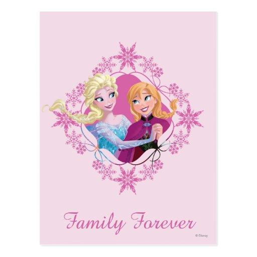 Family Forever Post Card