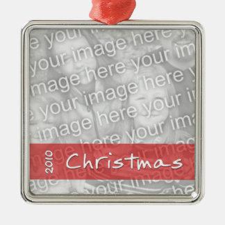 Family / Friend Christmas Photo Custom Ornament