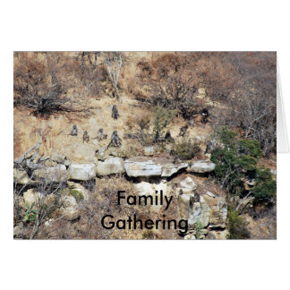 Family Gathering Card