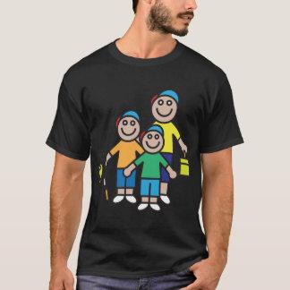 Family Going Fishing Mens T-Shirt