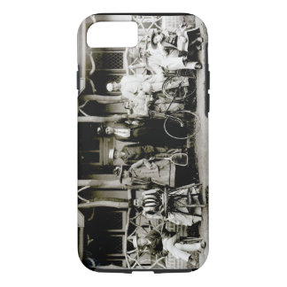 Family Group, c.1900 (b/w photo) iPhone 7 Case