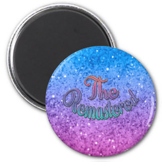 Family Group Design - Music - The Remastered 2 Inch Round Magnet