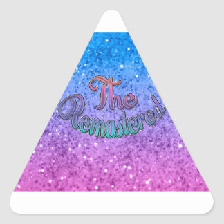 Family Group Design - Music - The Remastered Triangle Sticker