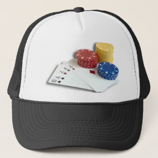 family guy, deadly, gambling-cards-chips trucker hat