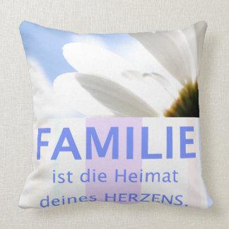 Family heart love - beautiful sayings of throw pillow