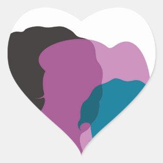 Family Heart Sticker