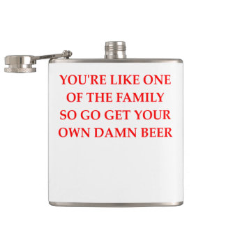 FAMILY HIP FLASK