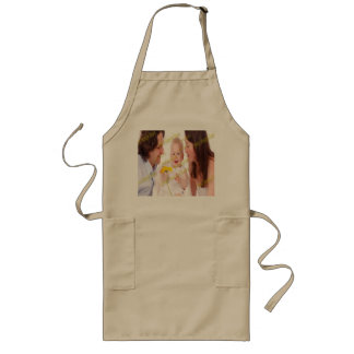 Family Image Memories Photo Template Long Apron