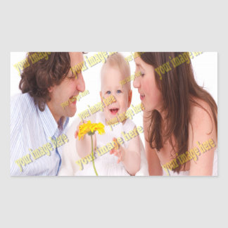 Family Image Memories Photo Template Sticker