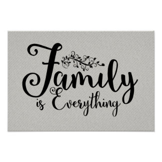 Family Is Everything | Poster