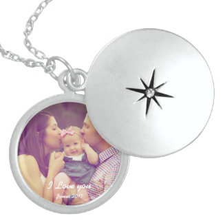 Family Keepsake Photo Locket