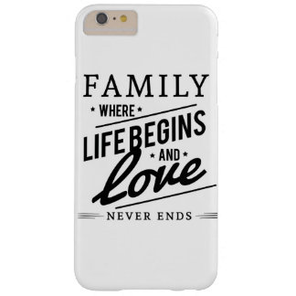 Family Love Barely There iPhone 6 Plus Case