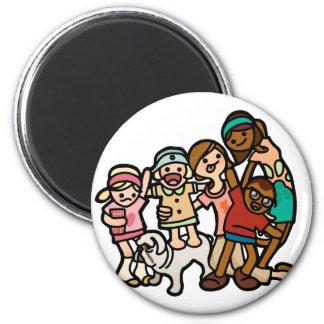 family magnetism. magnet