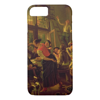 Family Meal (oil on canvas) iPhone 7 Case