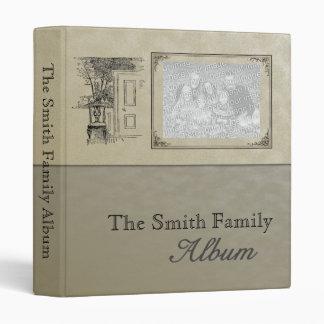 Family Memories, Genealogy, Travel Scrapbook Album Vinyl Binder