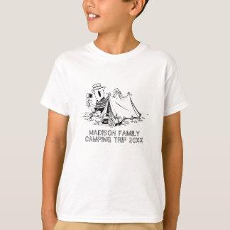 Family Name Camping Trip Summer Vacation Custom T-Shirt
