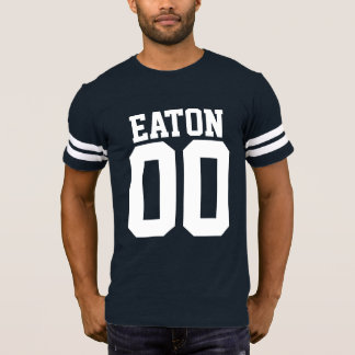 Family Name & Number Football Jersey T-Shirt