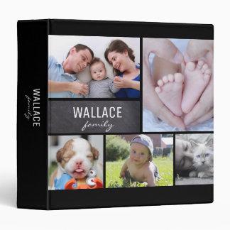 Family Name, Photo Collage Album Binder