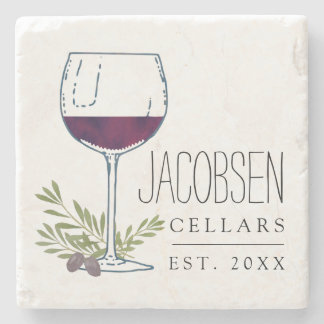 Family Name Wine Cellars Stone Coaster