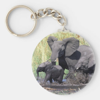 Family of elefants keychain