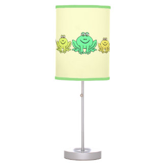 Family of Frogs Desk Lamps