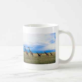 Family of Giraffes Classic White Coffee Mug