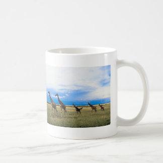 Family of Giraffes Coffee Mug