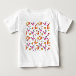Family of hens baby T-Shirt