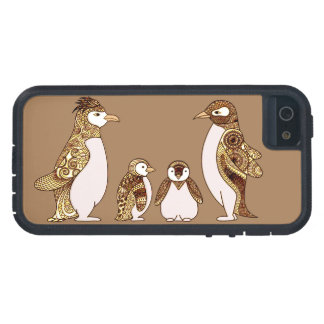 Family of Penguins iPhone 5 Covers