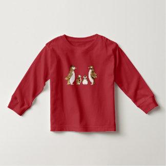 Family of Penguins Toddler T-shirt