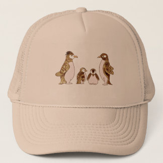 Family of Penguins Trucker Hat