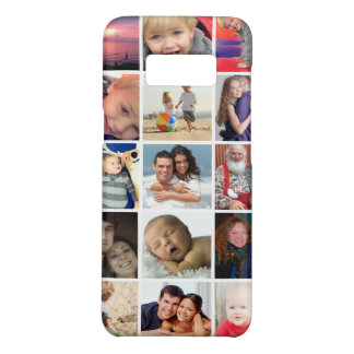Family or Vacation Instagram photo collage Case-Mate Samsung Galaxy S8 Case