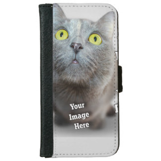 Family Pet Image Template iPhone 6 Wallet Case