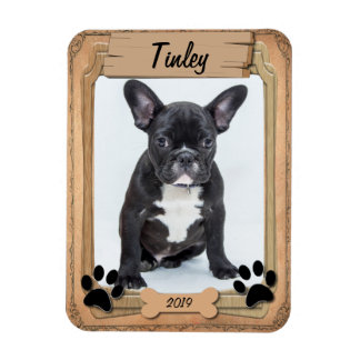 Family Pet Photo Template Magnet